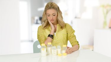 Medela bottle with teat Mum